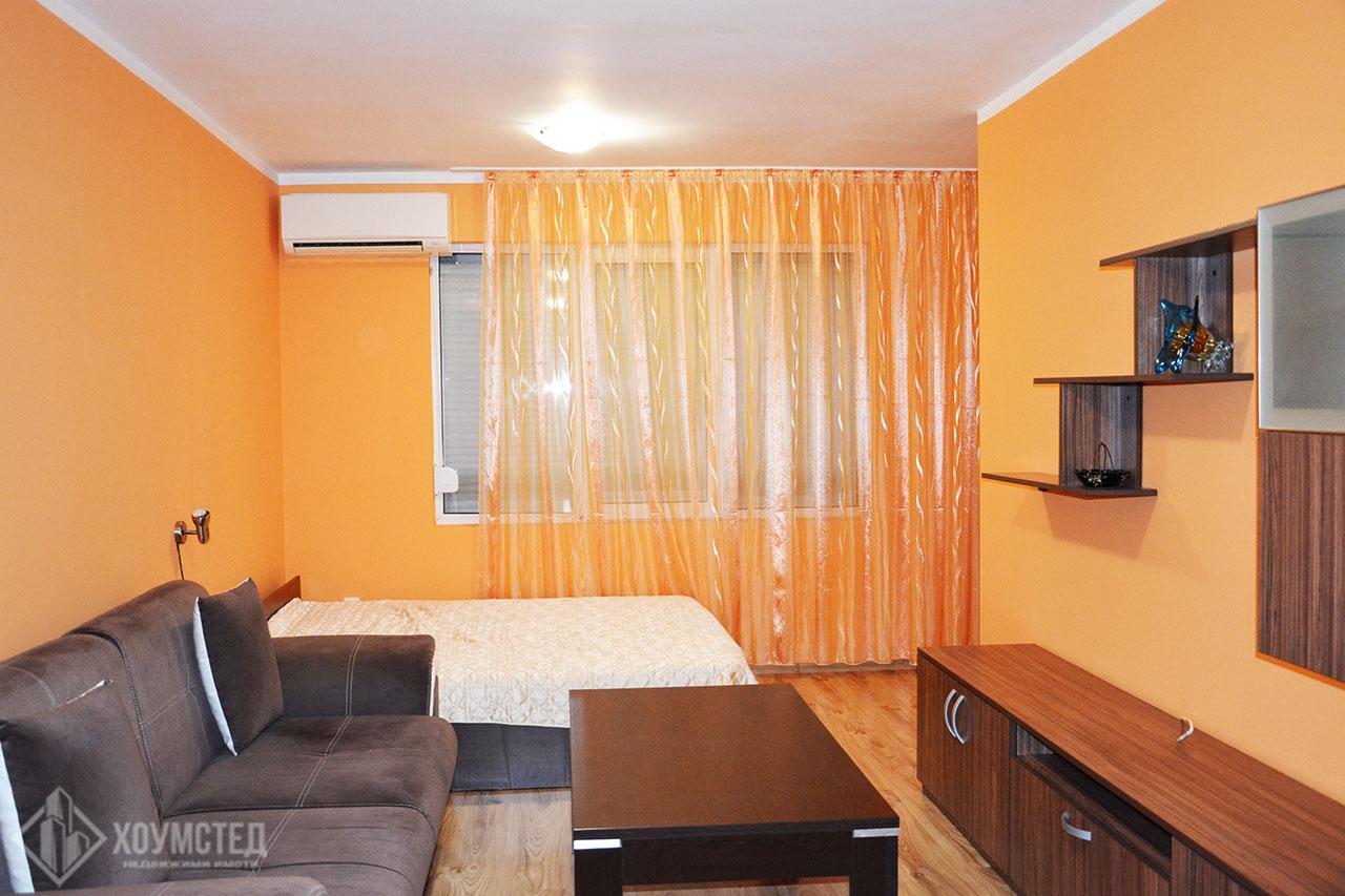 Тристаен обзаведен апартамент в ж.к. Меден Рудник зона А